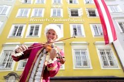 Mozart's birthplace.