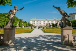 Mirabell Garden and castle Salzburg