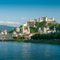 Salzburg-Stadtsicht-Tag