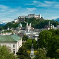 View of castle Hohensalzburg