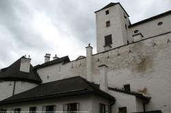 Frotress Salzburg Castle Hohensalzburg-Sight